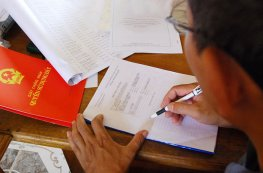 Quy định về hồ sơ làm sổ đỏ?